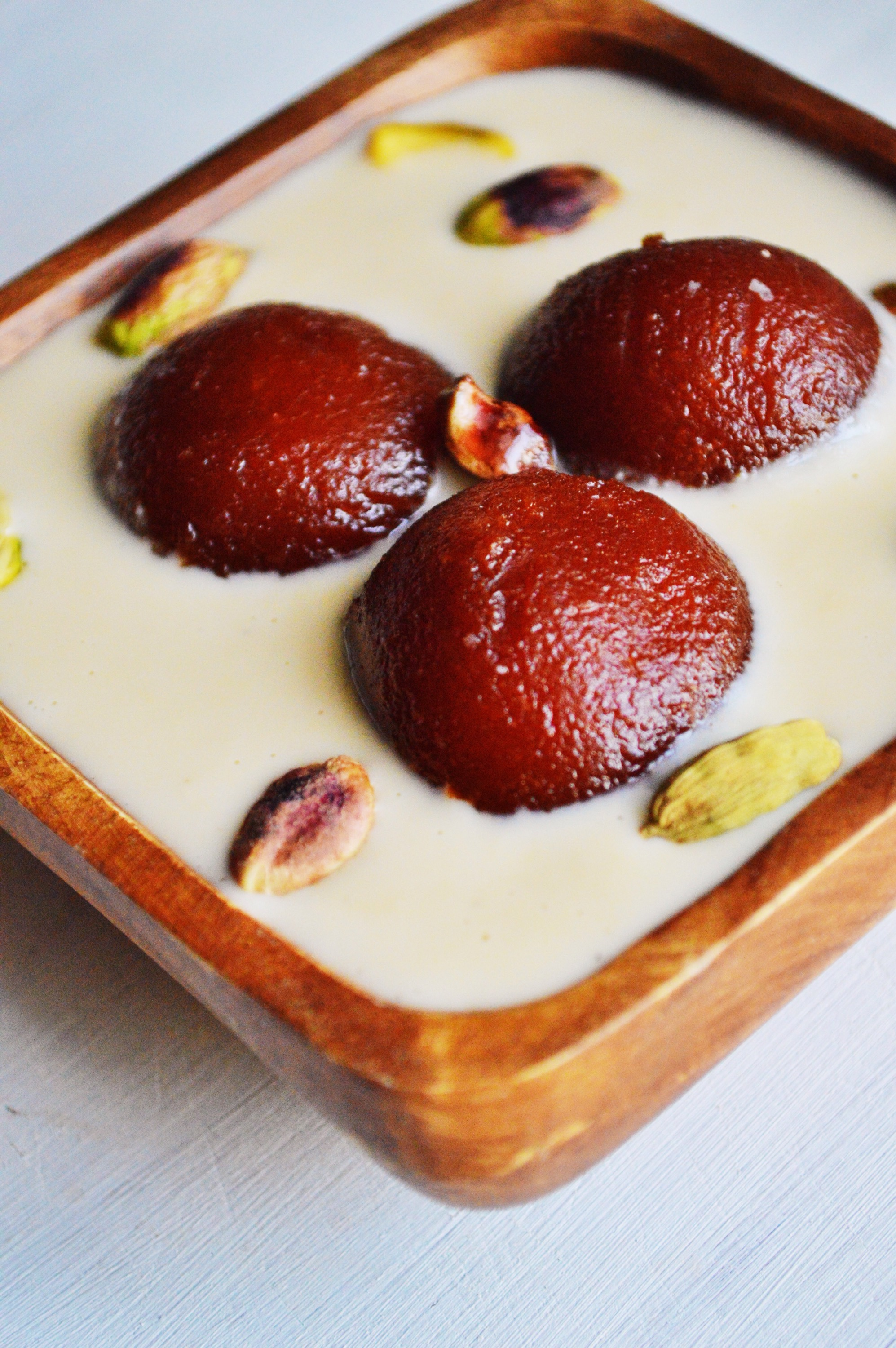 Gulab Jamun with Rabri | Savory and Sweet Food Gulab Jamun With Rabri